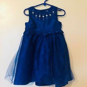 Gymboree royal blue formal dress